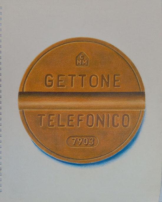 gettone_telefono_guido pigni matite colorate su carta