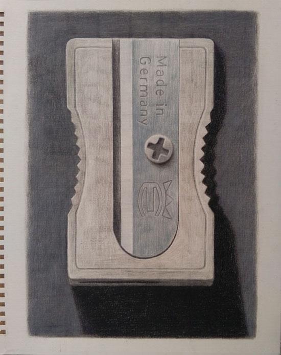 temperino_made in germany by guido pigni matite colorate su carta