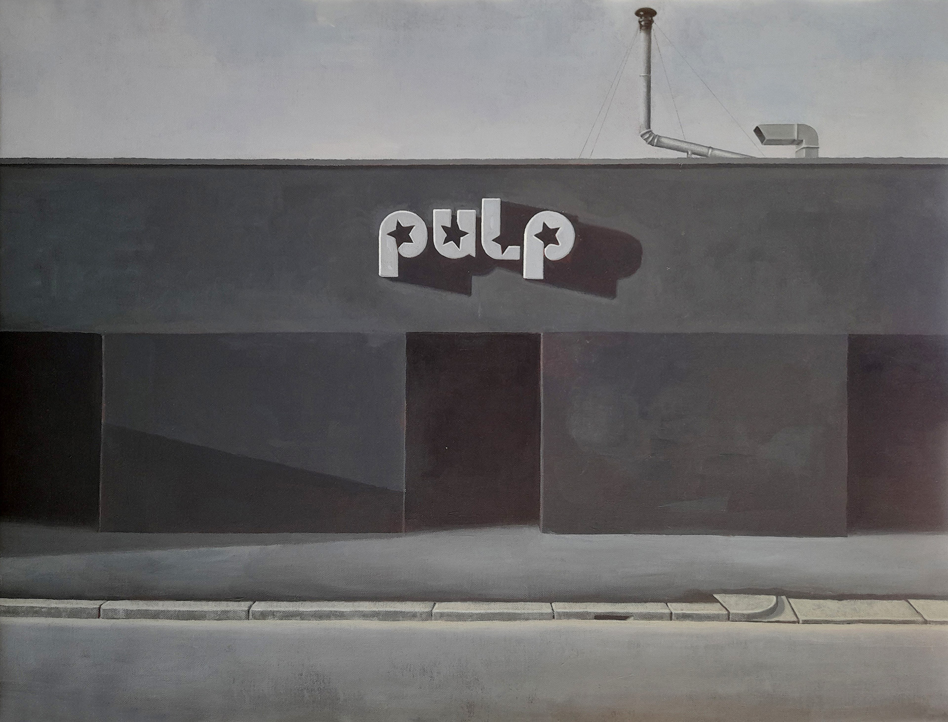pulp disco painting by guido pigni