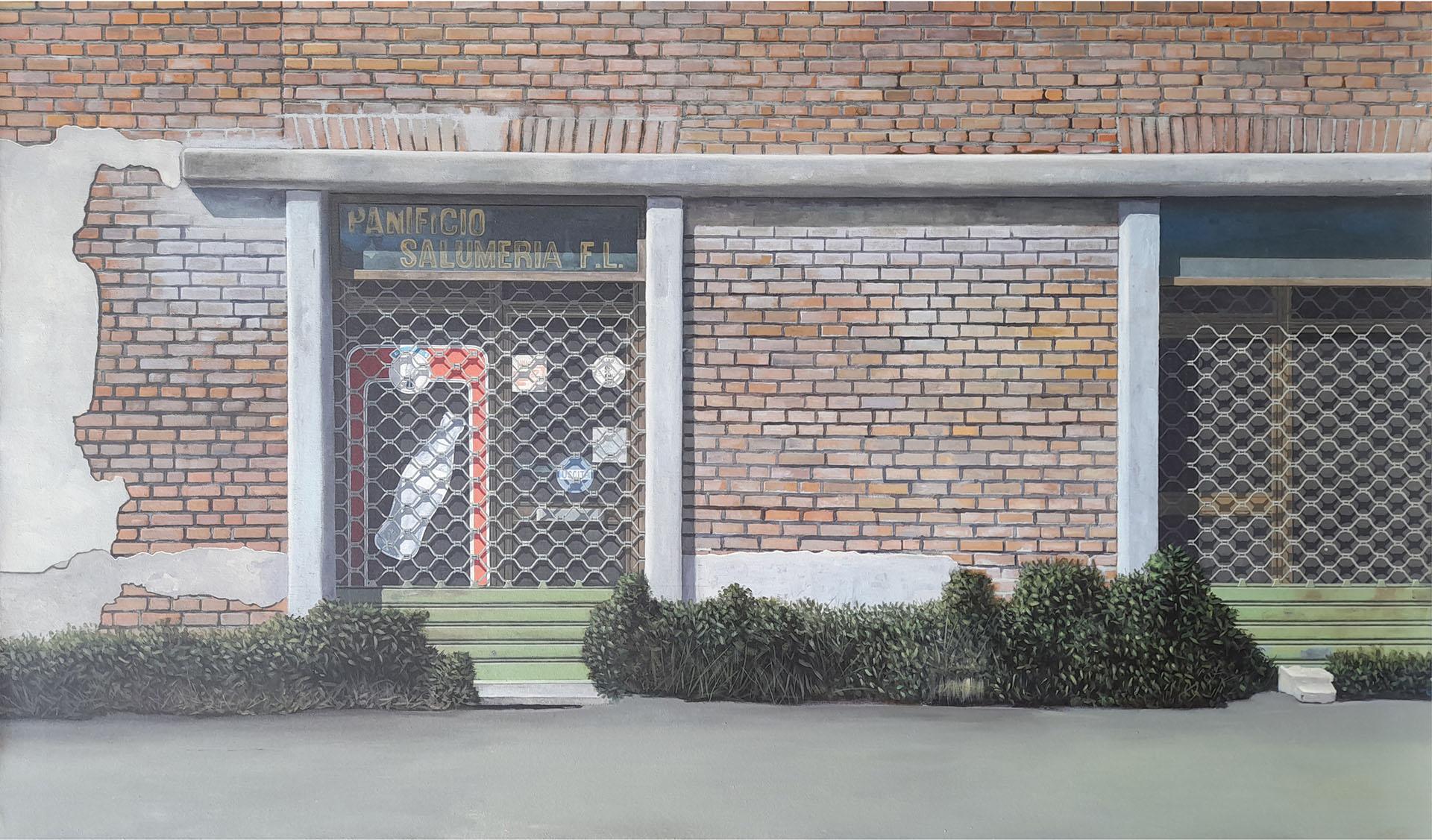 Guido Pigni 2017, acrylic on canvas, cm 60x90