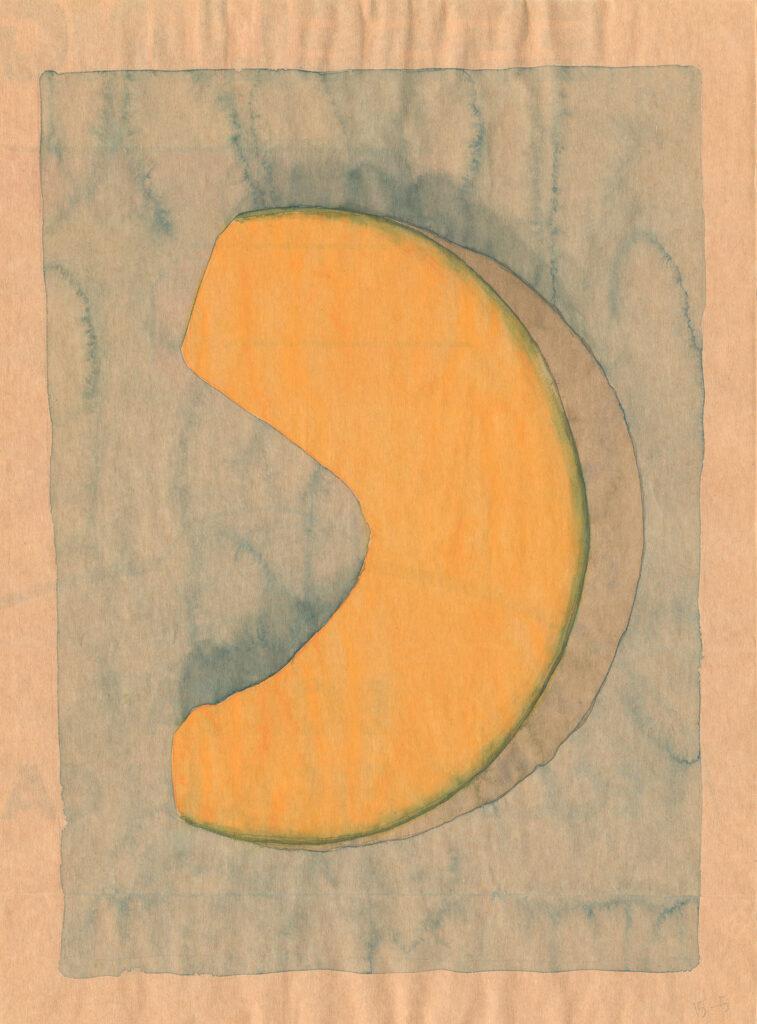 zucca pumpkin watercolor Guido Pigni 2020