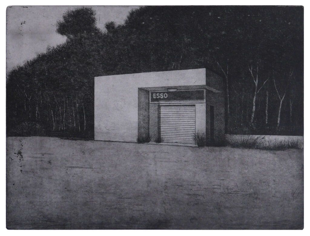 2012, etching and aquatint, edition of 15. Hand signed and numbered by the artist. Printed on Hahnemühle paper 350 gsm. Plate size cm 30×40, paper size cm 60×80